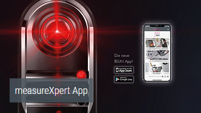 Blum-Novotest MeasureXpert App for Iphone and Android